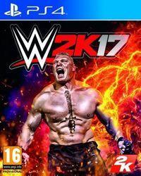 Portada oficial de WWE 2K17 para PS4