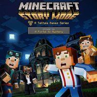 Portada oficial de Minecraft: Story Mode - Episode 6: A Portal To Mystery para PS4