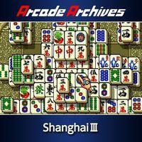 Portada oficial de Arcade Archives Shanghai III para PS4
