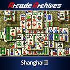 Portada oficial de de Arcade Archives Shanghai III para PS4