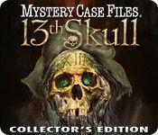 Portada oficial de Mystery Case Files: 13th Skull para PC