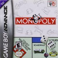 Portada oficial de Monopoly para Game Boy Advance