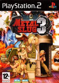 Portada oficial de Metal Slug 3D para PS2