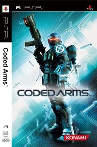 Portada oficial de Coded Arms para PSP