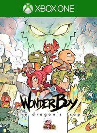 Portada oficial de Wonder Boy: The Dragon's Trap para Xbox One