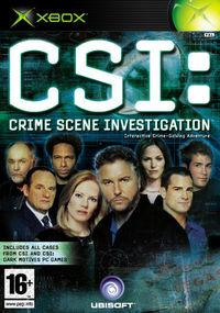 Portada oficial de CSI: Crime Scene Investigation para Xbox