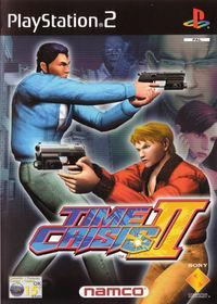 Portada oficial de Time Crisis 2 para PS2