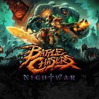 Portada oficial de Battle Chasers: Nightwar para PS4