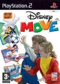 Portada oficial de Disney Move para PS2