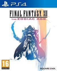 Portada oficial de Final Fantasy XII The Zodiac Age para PS4