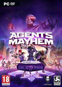 Portada oficial de Agents of Mayhem para PC