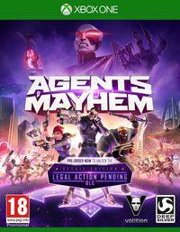 Portada oficial de Agents of Mayhem para Xbox One