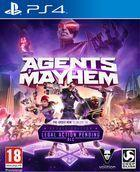 Portada oficial de de Agents of Mayhem para PS4