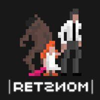 Portada oficial de RETSNOM para PS4