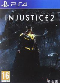 Portada oficial de Injustice 2 para PS4