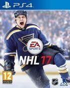 Portada oficial de de NHL 17 para PS4