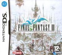 Portada oficial de Final Fantasy III para NDS
