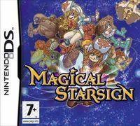 Portada oficial de Magical Starsign para NDS