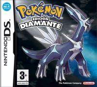 Portada oficial de Pokémon Diamond & Pearl para NDS