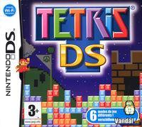 Portada oficial de Tetris DS para NDS