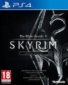Portada oficial de de The Elder Scrolls V: Skyrim: Special Edition para PS4