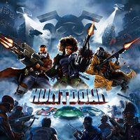 Portada oficial de Huntdown para PS4