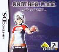 Portada oficial de Another Code: Two Memories para NDS