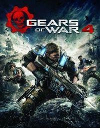 Portada oficial de Gears of War 4 para PC