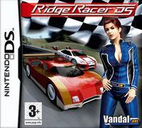 Portada oficial de Ridge Racer DS para NDS