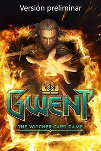 Portada oficial de Gwent: The Witcher Card Game para Xbox One