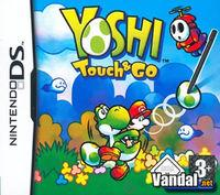 Portada oficial de Yoshi's Touch & Go para NDS