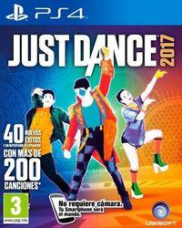 Portada oficial de Just Dance 2017 para PS4