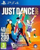Portada oficial de de Just Dance 2017 para PS4