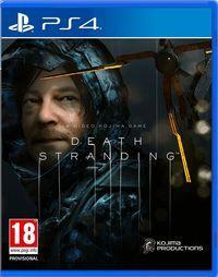 Portada oficial de Death Stranding para PS4