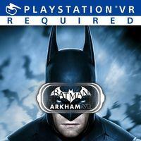 Portada oficial de Batman Arkham VR para PS4