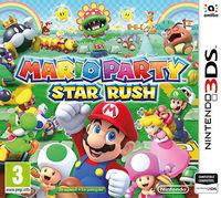 Portada oficial de Mario Party: Star Rush para Nintendo 3DS