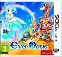 Portada oficial de Ever Oasis para Nintendo 3DS