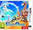 Portada oficial de de Ever Oasis para Nintendo 3DS