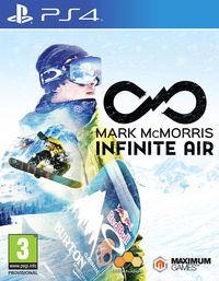 Portada oficial de Mark McMorris Infinite Air para PS4