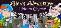Portada oficial de Alice's Adventures. Hidden Object para PC