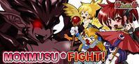 Portada oficial de MONMUSU * FIGHT! para PC
