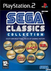 Portada oficial de Sega Classics Collection para PS2