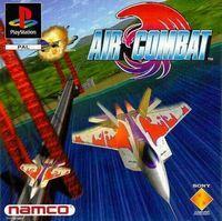 Portada oficial de Air Combat para PS One