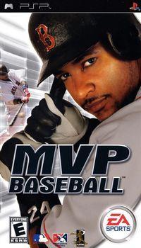 Portada oficial de MVP Baseball para PSP