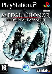 Portada oficial de Medal of Honor European Assault para PS2
