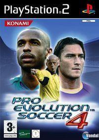 Portada oficial de Pro Evolution Soccer 5 para PS2