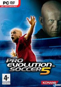 Portada oficial de Pro Evolution Soccer 5 para PC