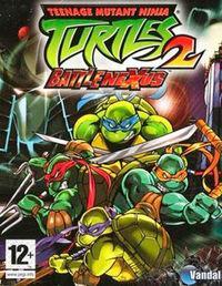 Portada oficial de Teenage Mutant Ninja Turtles 2: BattleNexus para GameCube