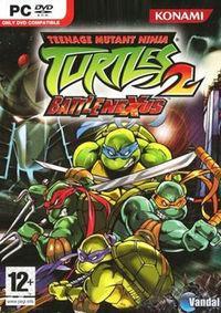 Portada oficial de Teenage Mutant Ninja Turtles 2: BattleNexus para PC