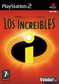Portada oficial de Los Increíbles para PS2
